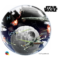 "24"" DOUBLE BUBBLE STAR WARS DEATH STAR"