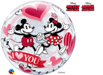 "22"" MICKEY & MINNIE I LOVE YOU"