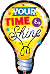 "40"" YOUR TIME TO SHINE FOIL"