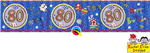 BANNER: RACHEL ELLEN - AGE 80 HAPPY BIRTHDAY