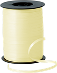 Curling Ribbon Ivory