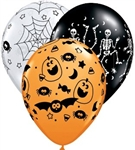 "11"" Round Special Assortment Spooky"
