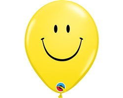 Qualatex 39803 Yellow Smile Face Latex