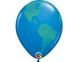 "Qualatex 39846 11"" Globe Latex"