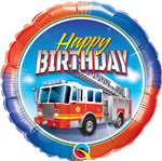 BIrthday Fire Truck