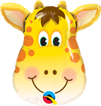 "Qualatex 41790 14"" Jolly Giraffe Foil Balloon"