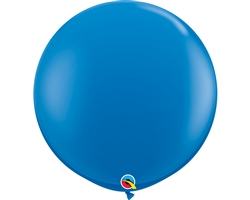 3ft Round Dark Blue