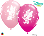 Qualatex 42843 Minnie Mouse Baby Hearts Latex Latex Balloons Ireland