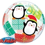 Christmas Bubble Penguins