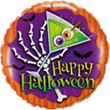 "18"" ROUND HALLOWEEN SCARY DRINK FOIL"