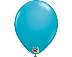 "5"" Tropical Teal Latex Balloons"