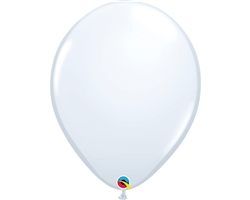"16"" ROUND WHITE LATEX (50 PER BAG)"