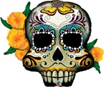 "38"" DAY OF THE DEAD SKULL FOIL"