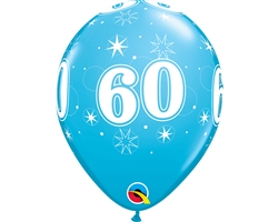 "11"" Round Birthday Latex Balloons"