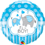 It's A Boy Elephant Foil