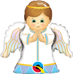 Angel Boy Foil Balloon