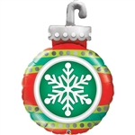 Qualatex 52940 Snowflake Ornament Foil