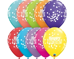 Retail Bday Confetti Latex