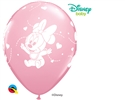 "12"" RETAIL LATEX  BABY MINNIE STARS (6 BAGS OF 6 BALLOONS PER BAG)"