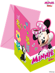 Disney Minnie Mouse Party Invitations