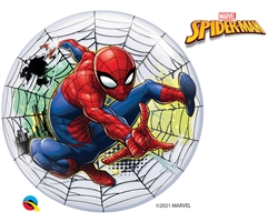 "22"" DISNEY BUBBLE SPIDERMAN WEB SLINGER"