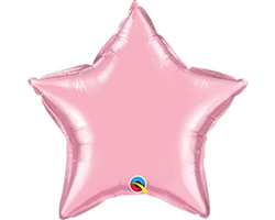 "Qualatex 54571 4"" Pearl Pink Foil Balloon"