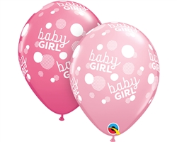 Baby Girl Pink Dots