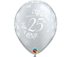 "11"" RETAIL LATEX 25TH ANNIVERSARY"
