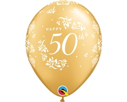 "11"" RETAIL LATEX 50TH ANNIVERSARY"
