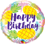 Birthday Pineapples Foil
