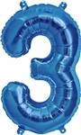 "16"" NUMBER 3 - BLUE FOIL AIR FILL"