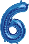 "16"" NUMBER 6 - BLUE FOIL AIR FILL"