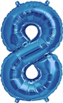 "16"" NUMBER 8 - BLUE FOIL AIR FILL"