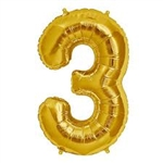 "16"" NUMBER 3 - GOLD FOIL AIR FILL"