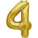 "16"" NUMBER 4 - GOLD FOIL AIR FILL"