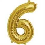 "16"" NUMBER 6 - GOLD FOIL AIR FILL"