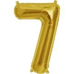 "16"" NUMBER 7 - GOLD FOIL AIR FILL"