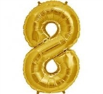 "16"" NUMBER 8 - GOLD FOIL AIR FILL"