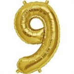 "16"" NUMBER 9 - GOLD FOIL AIR FILL"