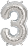 "16"" NUMBER 3 - SILVER FOIL AIR FILL"