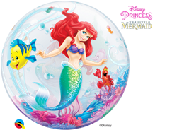 "22"" DISNEY BUBBLE THE LITTLE MERMAID"