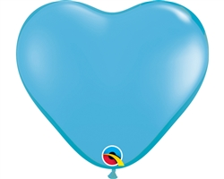 Heart Pale Blue Latex