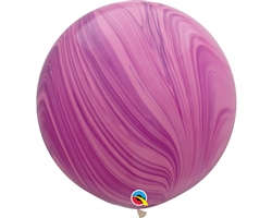 3ft Agate Pink & Violet Latex