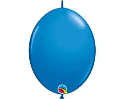 "12"" Q-LINK DARK BLUE BALLOON"