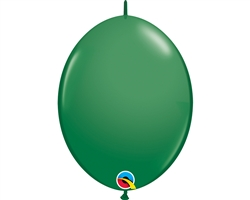 "6"" QUICKLINK LATEX GREEN (50 PER BAG)"