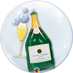 "24"" DOUBLE BUBBLE BUBBLES CHAMPAGNE"