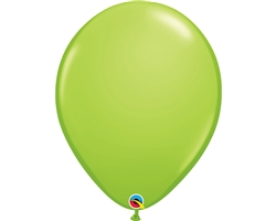 "16"" ROUND LIME GREEN LATEX (50 PER BAG)"