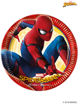 Spiderman Paper Plates