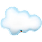SUPERSHAPE PUFFY CLOUD FOIL