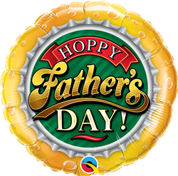 Qualatex 82297 Hoppy Father's Day! Foil